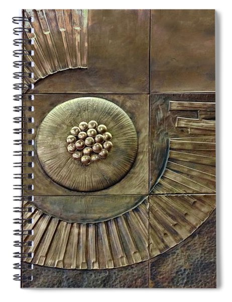 What Lies Between Spiral Notebook