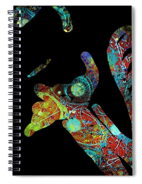 What's Left Behind Imprint Of The Spirit Spiral Notebook