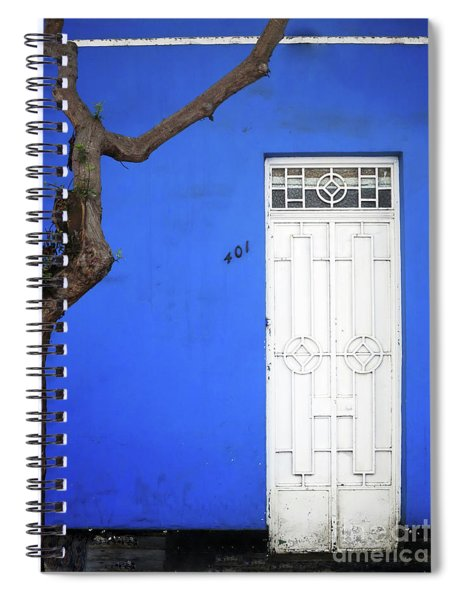 When A Tree Comes Knocking Spiral Notebook by Rick Locke
