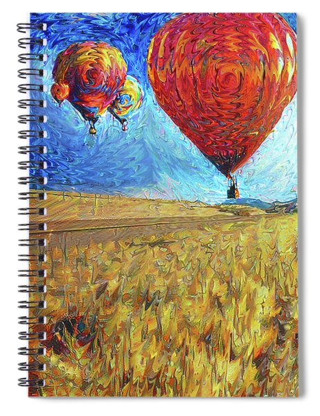 When The Sky Blooms Spiral Notebook