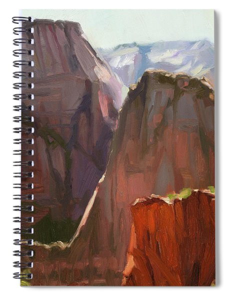 Where Angels Land Spiral Notebook by Steve Henderson