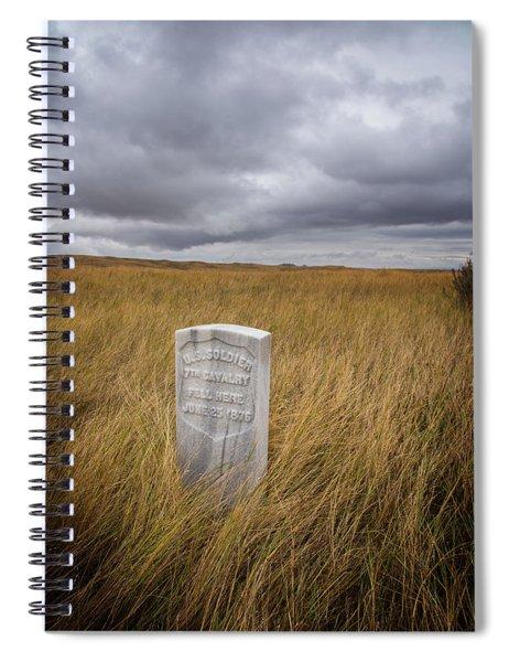 Where He Fell Spiral Notebook