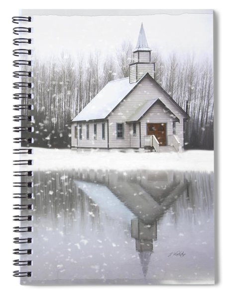 Where Hope Grows - Hope Valley Art Spiral Notebook