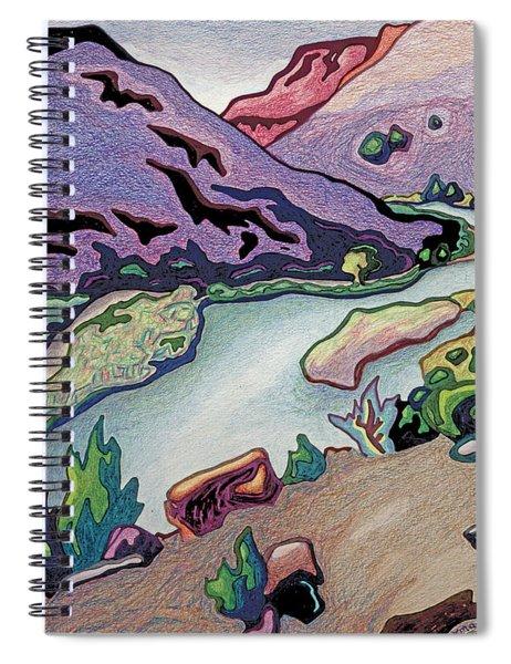 Where I Cross The Rio Grande Spiral Notebook