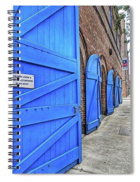 Which Blue Door Spiral Notebook