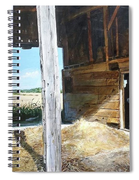 While The Sun Shines Spiral Notebook