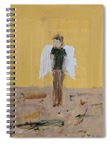 Whistling Angel Spiral Notebook