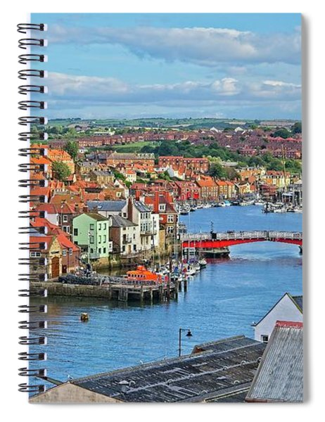 Whitby Harbour, Yorkshire Spiral Notebook