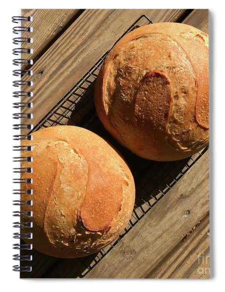 White And Rye Sourdough S's Spiral Notebook
