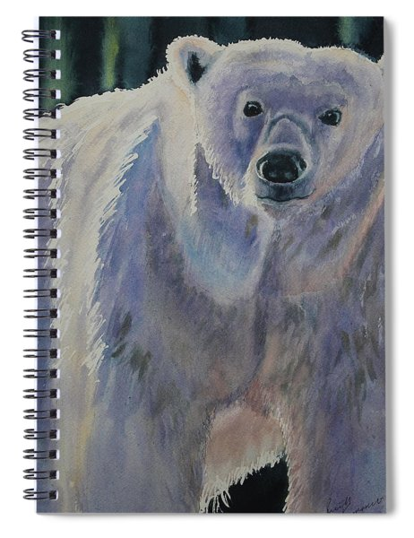 White Bear Spiral Notebook