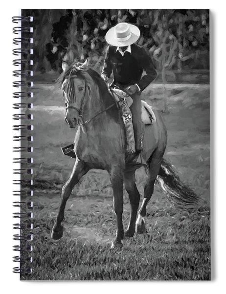White Brim Spiral Notebook