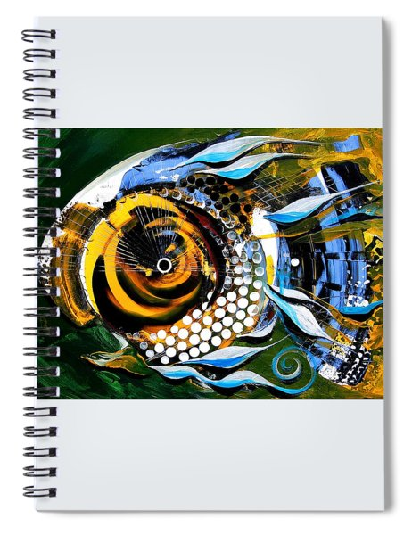 White-headed Mouth Fish Spiral Notebook