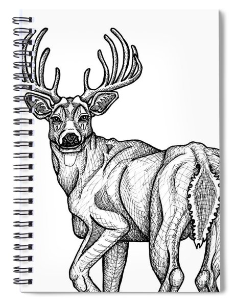 White Tailed Buck Spiral Notebook
