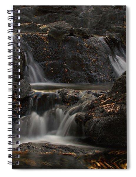 White Water Spiral Notebook