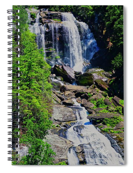 Whitewater Falls Top Spiral Notebook