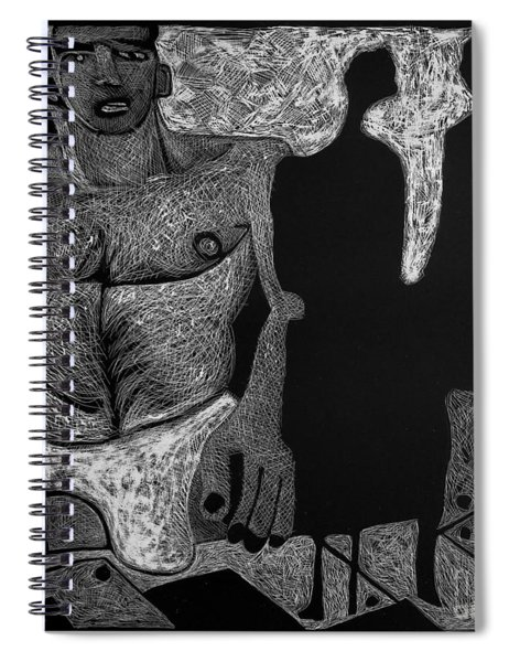 Viewing Madawask. Spiral Notebook
