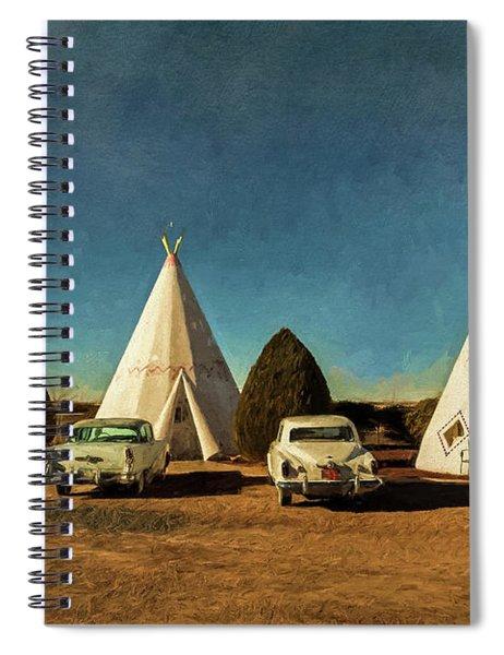 Wigwam Hotel Spiral Notebook