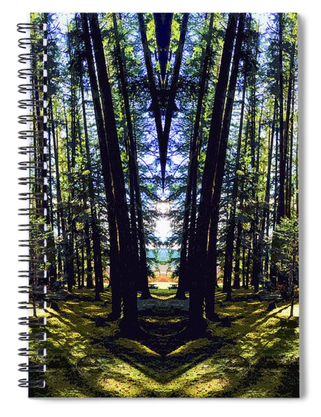 Wild Forest #1 Spiral Notebook