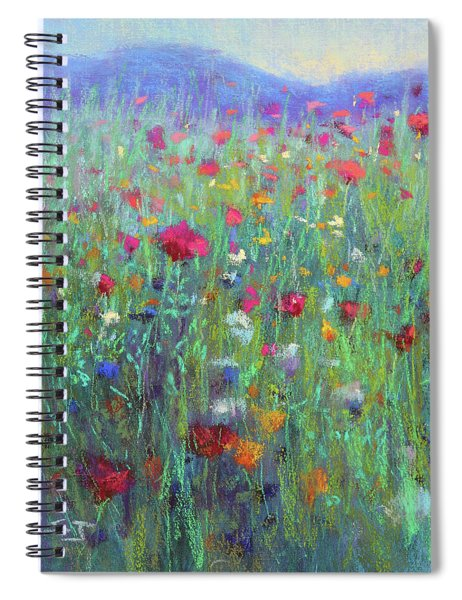 Wild Meadow Spiral Notebook