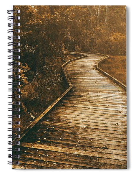 Wild Routes Spiral Notebook