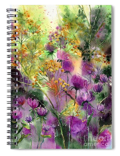 Wild Tansy Spiral Notebook