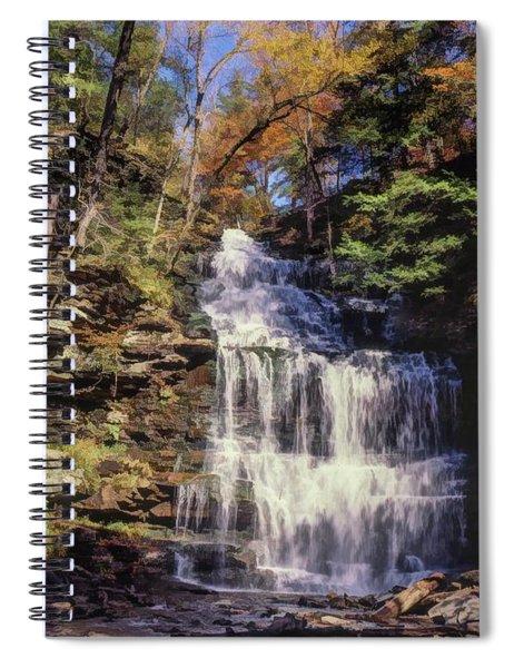 Wild Waterfall Spiral Notebook