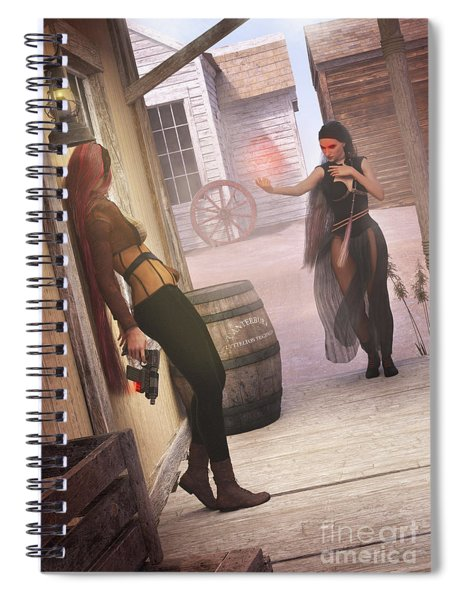 Wild West Spiral Notebook