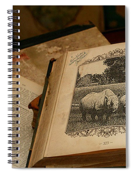 Spiral Notebook featuring the photograph Wild Wonders by Alison Frank