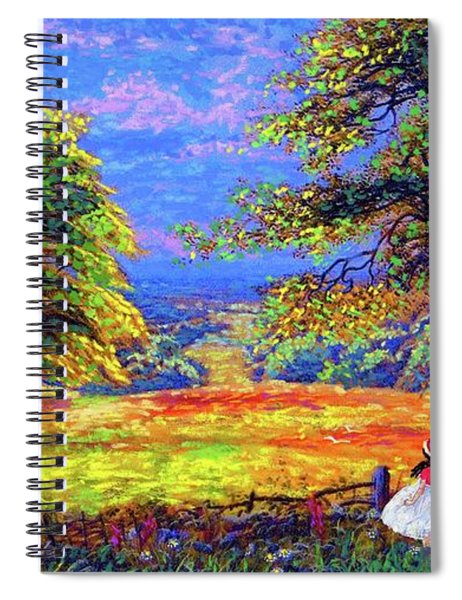 Flower Fields Spiral Notebook
