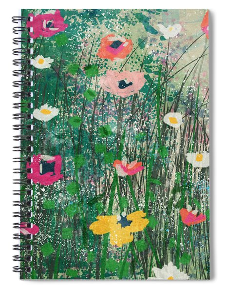 Wildflowers- Art By Linda Woods Spiral Notebook