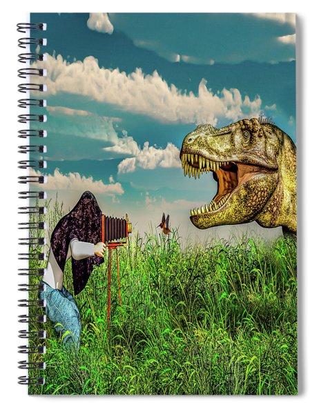 Wildlife Photographer  Spiral Notebook