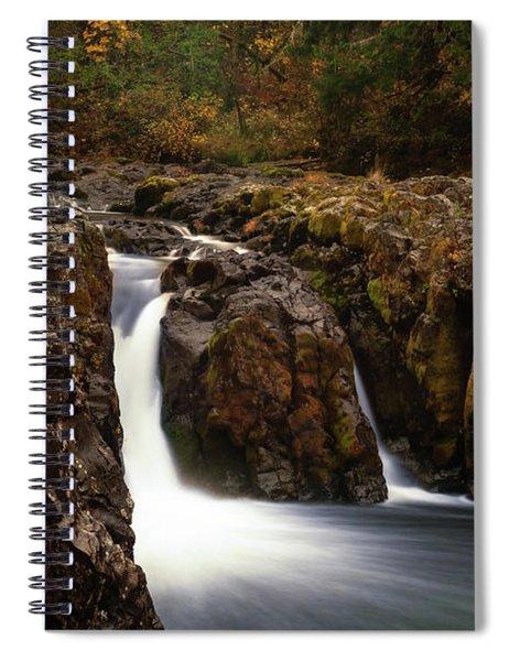 Wildwood Falls Oregon 2 Spiral Notebook