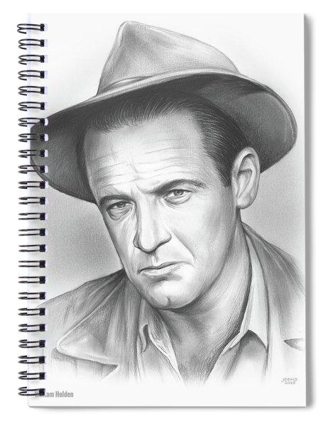 William Holden Spiral Notebook