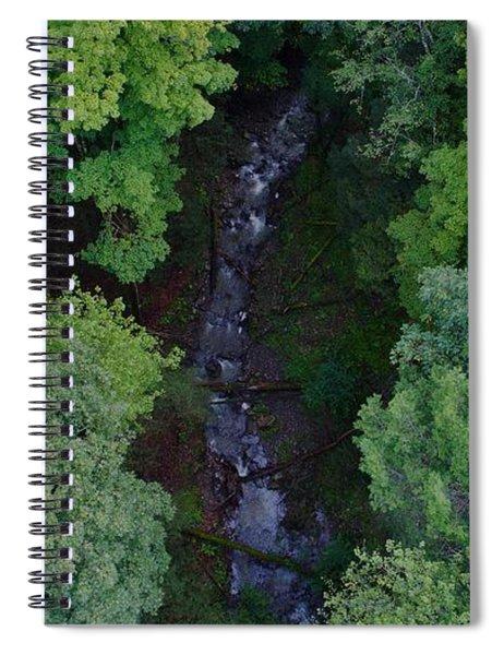 Willow Run Creek Spiral Notebook