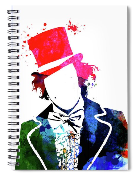 Willy Watercolor II Spiral Notebook