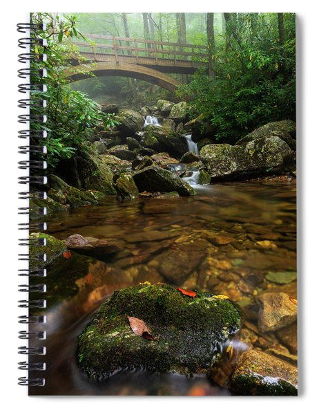 Wilson Creek Bridge Tanawha Trail - Blue Ridge Parkway Spiral Notebook
