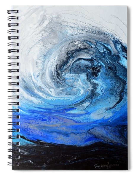 Wind And Wave Spiral Notebook