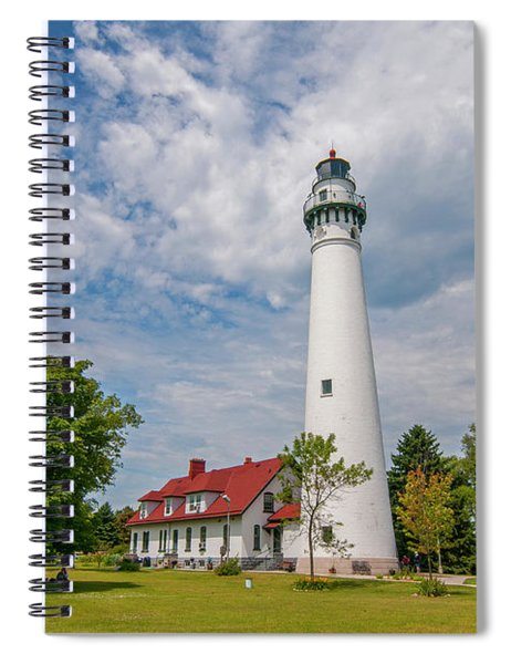 Wind Point Lighthouse No 3 Spiral Notebook