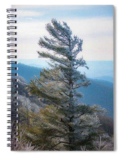 Wind Shaped Spiral Notebook