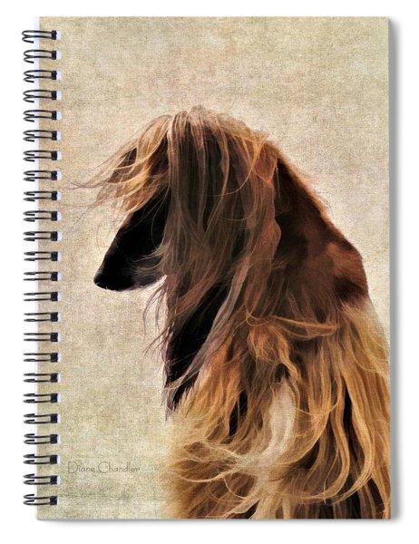 Windblown Spiral Notebook