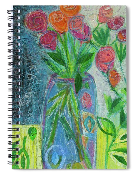 A-rose-atherapy Spiral Notebook