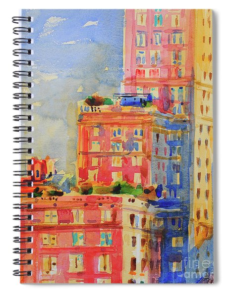 Windows In The Upper East Side Spiral Notebook