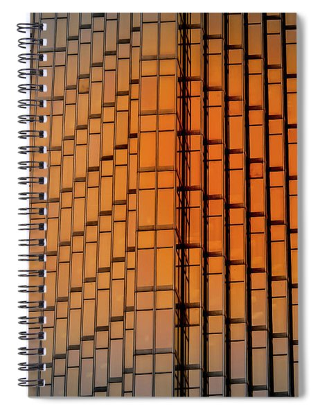 Windows Mosaic Spiral Notebook