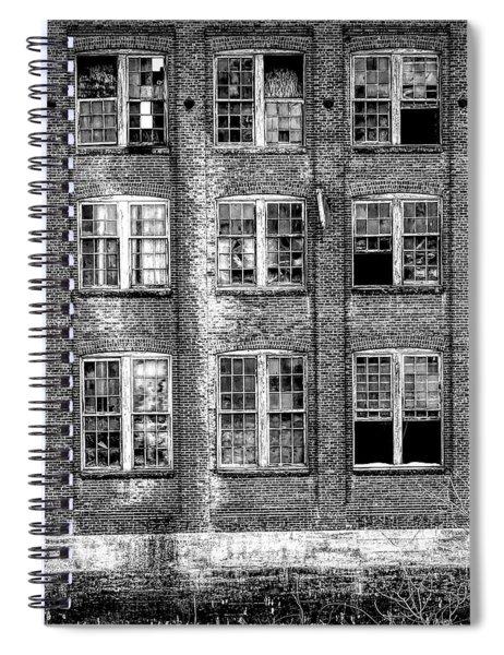 Windows Of Old Claremont Spiral Notebook