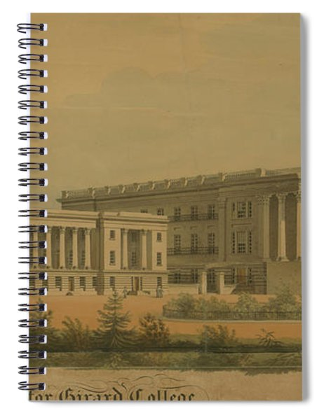 Winning Competition Entry For Girard College Spiral Notebook