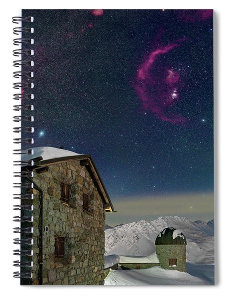 Winter Bounty Spiral Notebook