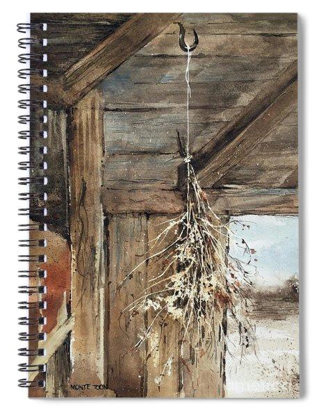 Winter Bouquet Spiral Notebook