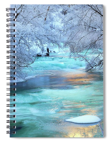 Winter Brilliance And Beauty Spiral Notebook