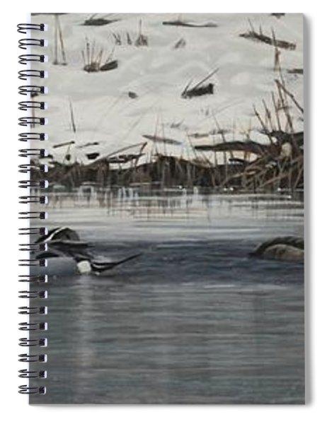 Winter Flock Spiral Notebook