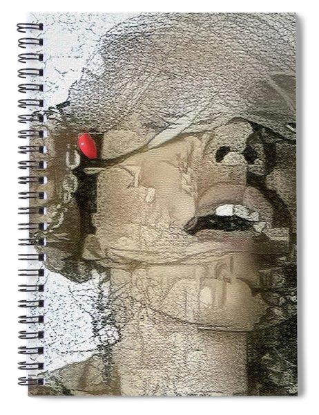 Winter Is Here Spiral Notebook